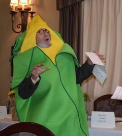 Lamar Merrill in costume